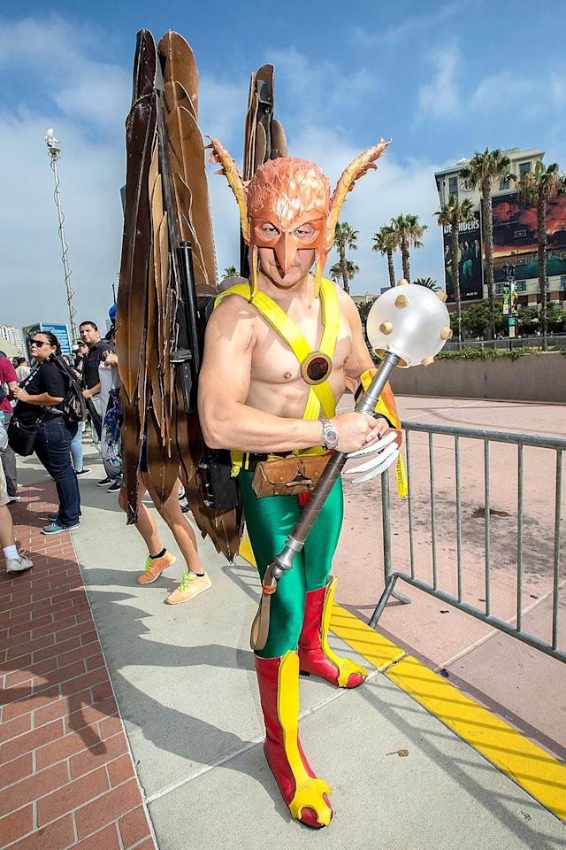<p>From <em>Hawkman </em>comics (Photo by Daniel Knighton/FilmMagic) </p>