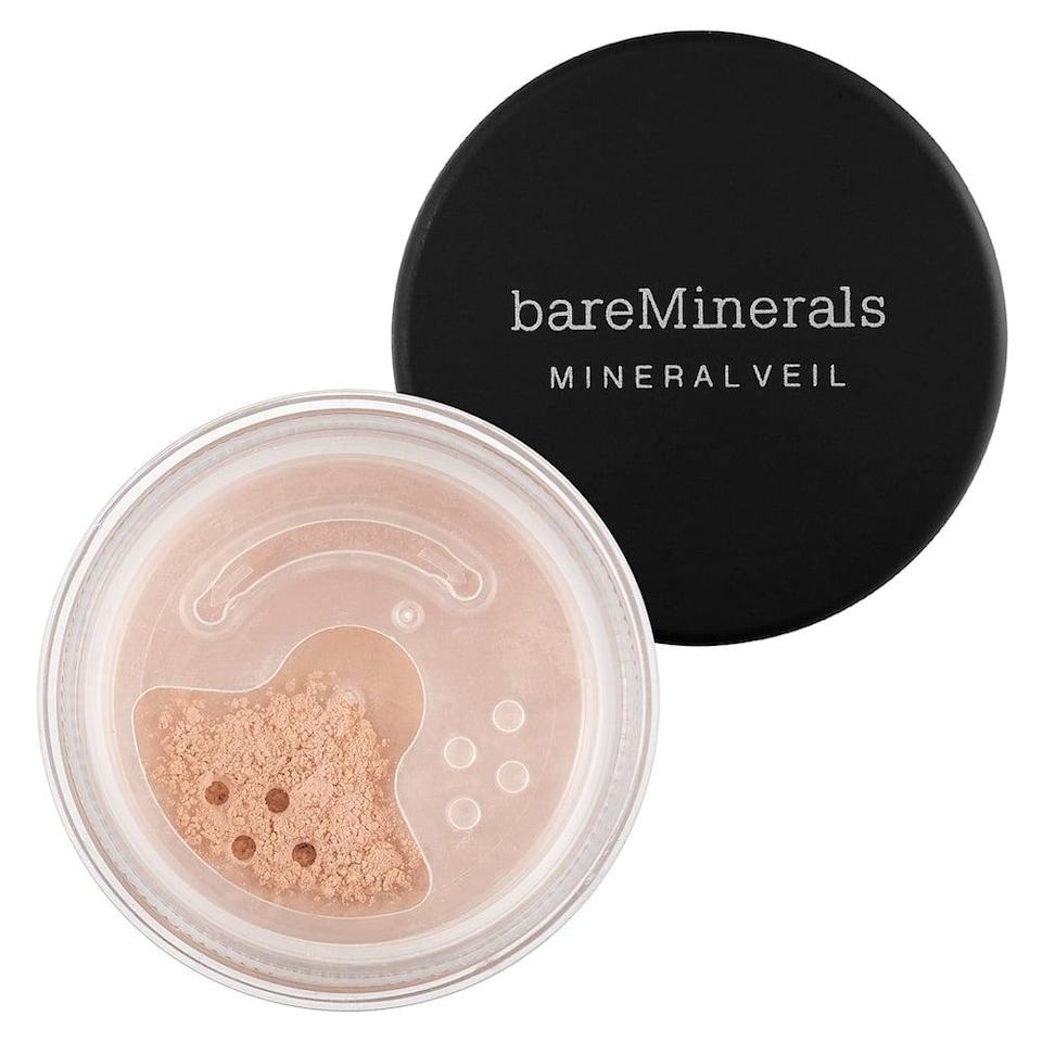 <p>This <span>bareMinerals Mineral Veil Talc Free Setting Powder</span> ($27) is also a crowd pleaser and comes in a bunch of different shades.</p>