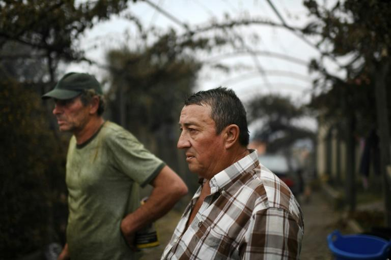 Jose Manuel and Vitor Neves lost their wives in a wildfire in central Portugal