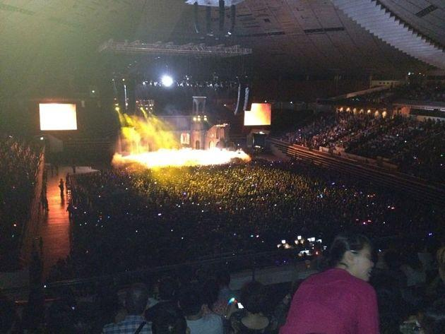 A strong crowd showed up for Lady Gaga's concert. (Photo courtesy of Vivian Tsui)