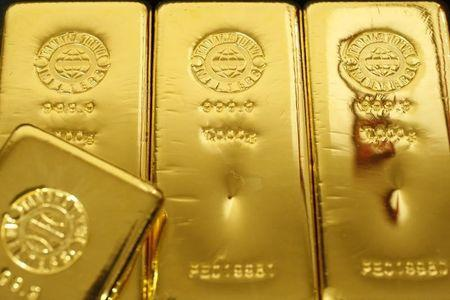 Gold up in Asia