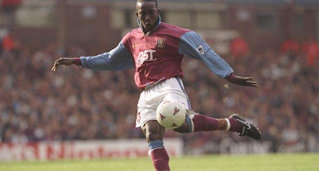 Dwight Yorke (Photo by Ben Radford/Allsport)