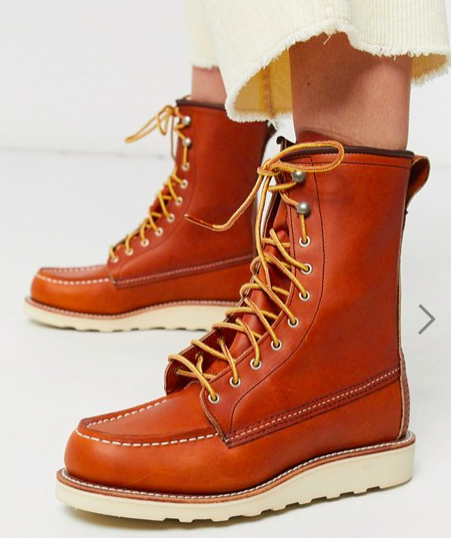 Red Wing 8inch classic moccasin toe boot, S$332.37 (wasS$553.96). PHOTO: ASOS