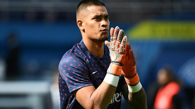 The Frenchman has been competing with Gianluigi Buffon for a place between the posts with the Ligue 1 champions this season