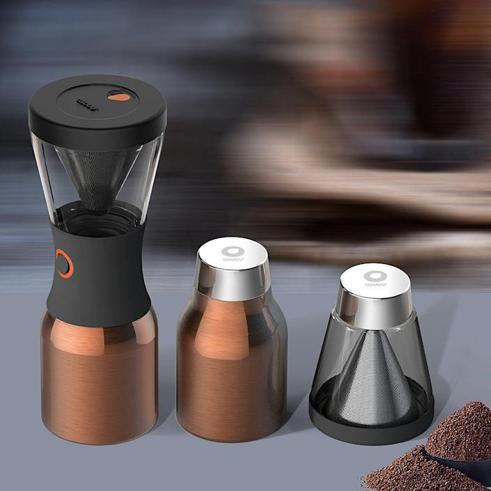 <p>This <span>Asobu Coldbrew Portable Cold Brew Coffee Maker</span> ($42, originally $50) will make your mornings even more enjoyable.</p>