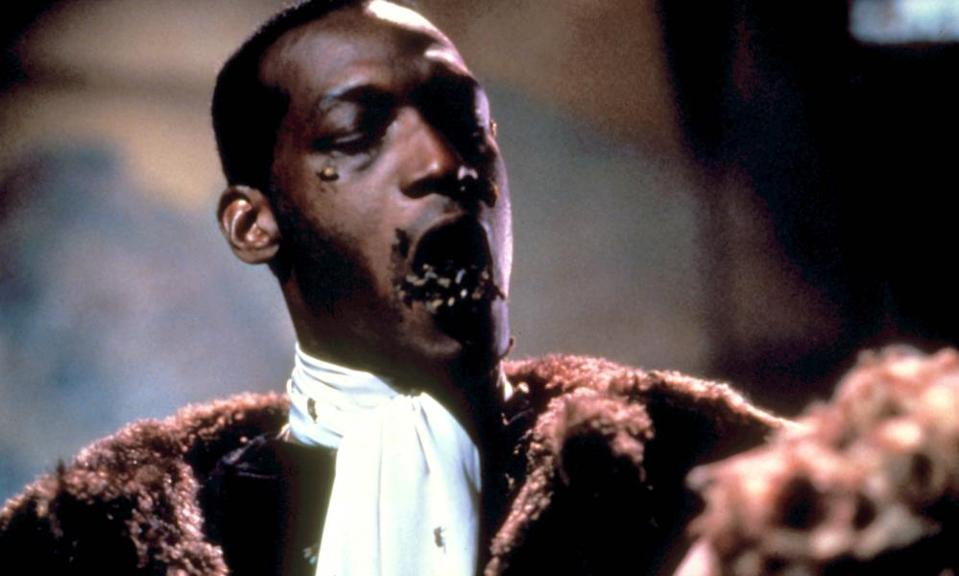Bee movie … Tony Todd in, and as, Candyman.