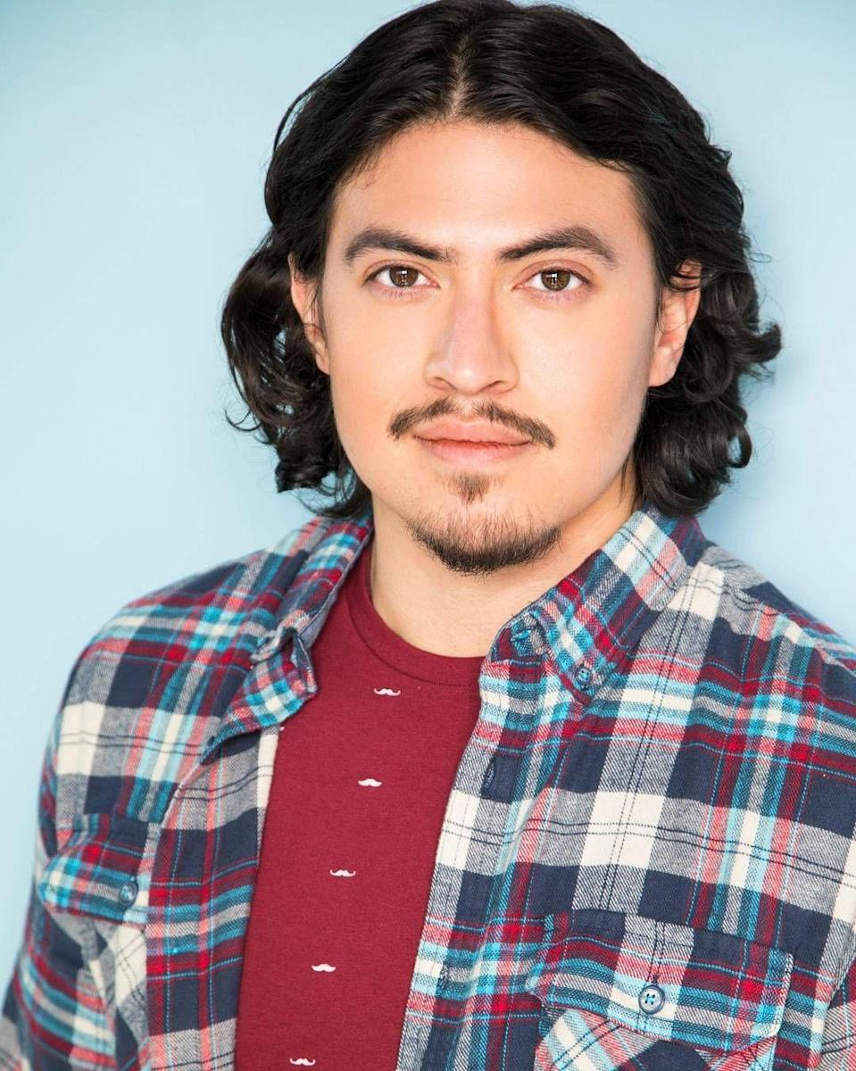 "<p>Hunter Reese Peña transforms into Ricky Vela for <em>Selena: The Series</em>. In November 2019, <a href=""https://www.instagram.com/p/B5bFn9PhHtM/"" rel=""nofollow noopener"" target=""_blank"" data-ylk=""slk:he wrote"" class=""link rapid-noclick-resp"">he wrote</a>: ""I'm thankful to @Netflix and everyone at Campanario Entertainment for giving a little Mexican American boy a shot at his big dream and entrusting me to bring Ricky Vela to the small screen on @selenanetflix.""</p>"