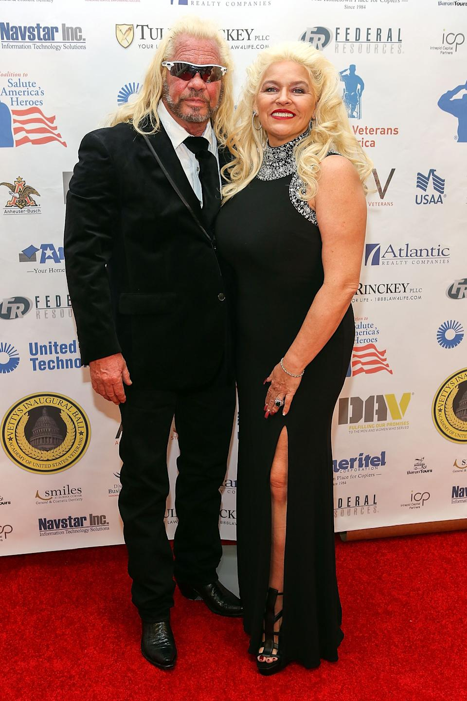 Duane 'The Dog' Chapman and his late wife Beth