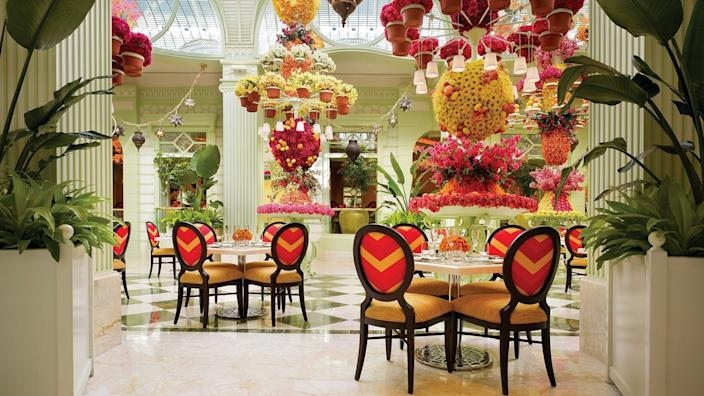 """The Buffet at Wynn Las Vegas opened, but self-serve steam tables have been removed. <span class=""""copyright"""">(Barbara Kraft)</span>"""