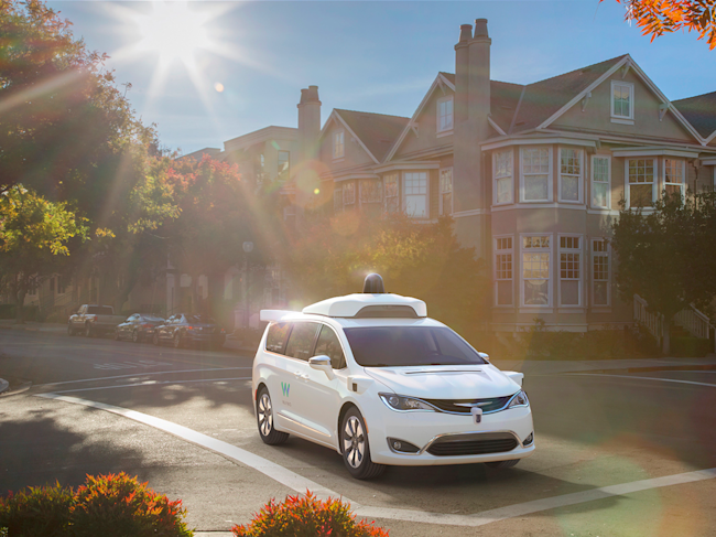 Google's parent wants Avis to manage its self-driving fleet
