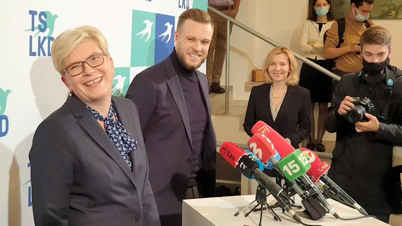 Lithuania's centre-right opposition party appears on track to win election