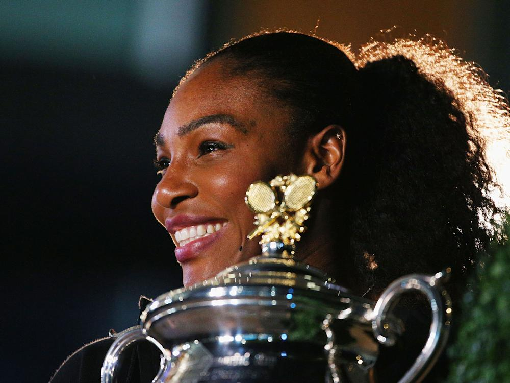 Serena Williams won the Australian Open in the early stages of her pregnancy: Getty