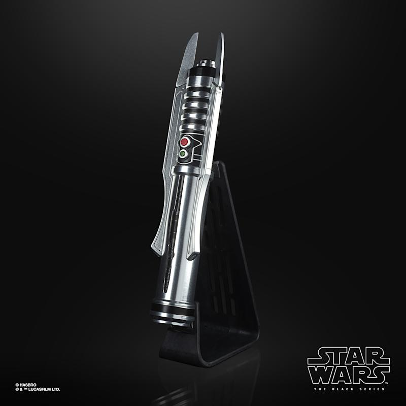 Star Wars Exclusive First Look At New Black Series Snowspeeder Darth Revan Lightsaber