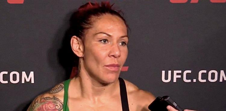 Cris Cyborg UFC 214 Workout Scrum