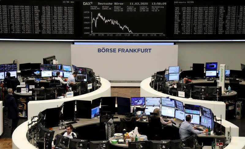 European shares lose for fifth day as BoE stimulus fails to entice buyers