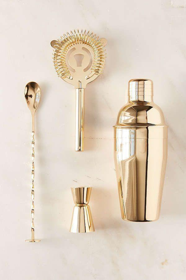 """<p>If you're a novice bartender, this four-piece set is all you need to mix up something tasty for bae — excuse us, Mr. Bae.</p><p><strong><em>BUY IT NOW: Metallic Bar Cocktail Shaker Set, $39; </em></strong><a href=""""https://www.urbanoutfitters.com/shop/metallic-bar-cocktail-shaker-set?category=dinnerware&color=070"""" rel=""""nofollow noopener"""" target=""""_blank"""" data-ylk=""""slk:Urbanoutfitters.com"""" class=""""link rapid-noclick-resp""""><strong><em>Urbanoutfitters.com</em></strong></a></p>"""