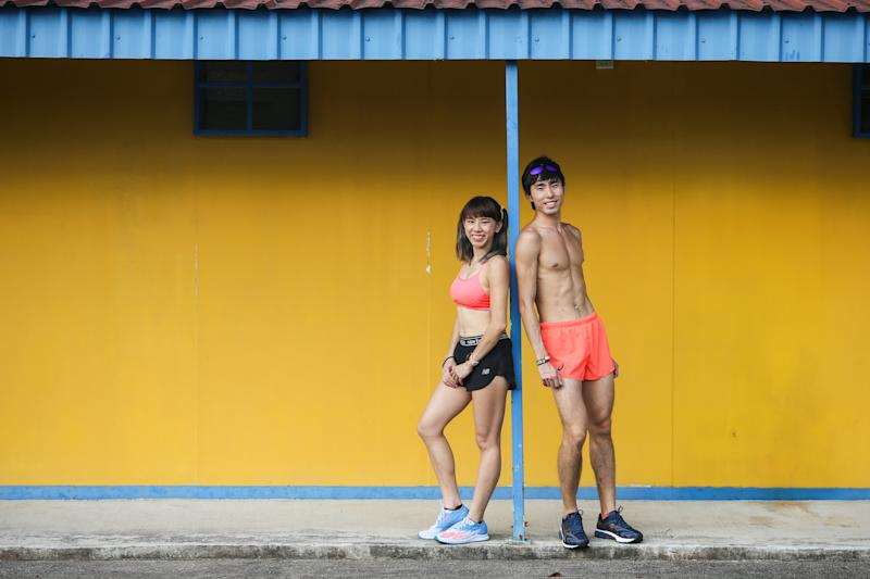Singapore #Fitspo of the Week: Romaine Soh and Soh Rui Yong (PHOTO: Cheryl Tay)