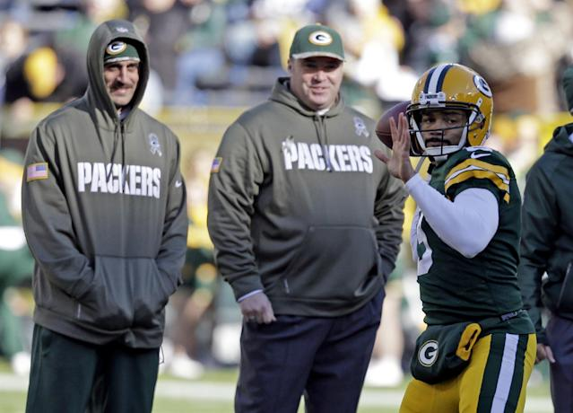 Packers QB Wallace leaves game with groin injury