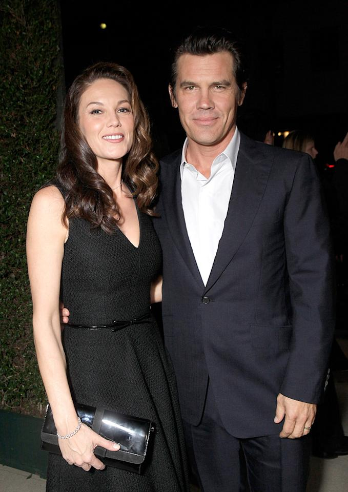 "<a href=""http://movies.yahoo.com/movie/contributor/1800020036"">Diane Lane</a> and <a href=""http://movies.yahoo.com/movie/contributor/1800019611"">Josh Brolin</a> attend the Los Angeles screening of <a href=""http://movies.yahoo.com/movie/1810153253/info"">True Grit</a> on December 9, 2010."