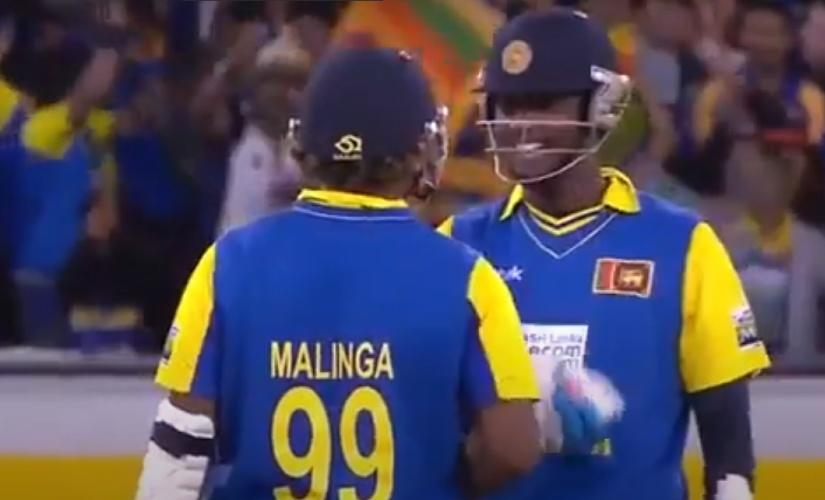 Down in the dumps at 107/8, Angelo Mathews and Lasith Malinga got together to pull off a heist and chase down 240 against Australia.