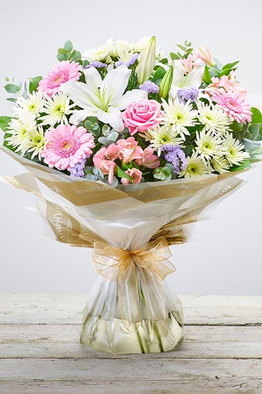 """<p><strong><a class=""""link rapid-noclick-resp"""" href=""""https://go.redirectingat.com?id=127X1599956&url=https%3A%2F%2Fwww.interflora.co.uk%2Fcategory%2Fsame-day-flowers%2F%3Fcid%3Dppc%257Cscr%253ANonBrand%257Csen%253AGoogle%257Cmed%253AFlowers_General%257Ccam%253A%255Bsame%2Bday%2Bdelivery%2Bflowers%2Buk%255D%26gclid%3DEAIaIQobChMIpsTtu8v_4AIVmkwNCh0rggaFEAAYASAAEgKwBvD_BwE&sref=https%3A%2F%2Fwww.cosmopolitan.com%2Fuk%2Fworklife%2Fg26812477%2Fsame-day-flower-delivery-uk%2F"""" rel=""""nofollow noopener"""" target=""""_blank"""" data-ylk=""""slk:BUY NOW"""">BUY NOW </a>Country Garden Hand-tied, £33.00, Interflora</strong></p><p>Order by 3pm Monday - Saturday and Interflora will make sure your bouquet is made by a local artisan florist and delivered to your recipient's door. Bouquets on offer range from the £26.00 gift boxes to the £250.00 Ultimate Rose and Lily Hand-tied.</p>"""