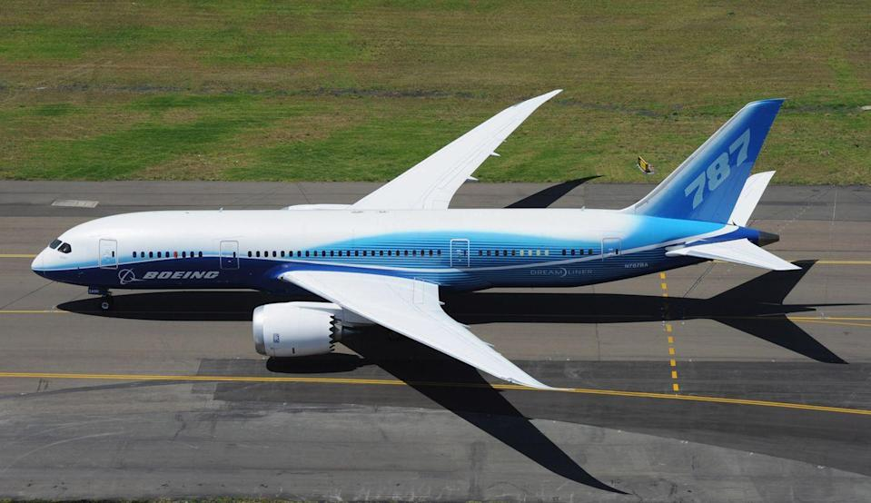 """<p>The world's most modern airliner, the 787's airframe is 50 percent carbon fiber, making it lighter and more fuel efficient than earlier passenger jets. Interior innovations include an improved pressurization system, more luggage room, and <a href=""""https://www.lot.com/us/en/dreamliner-787"""" rel=""""nofollow noopener"""" target=""""_blank"""" data-ylk=""""slk:windows that are 30 percent bigger"""" class=""""link rapid-noclick-resp"""">windows that are 30 percent bigger</a> than the standard airliner.</p>"""