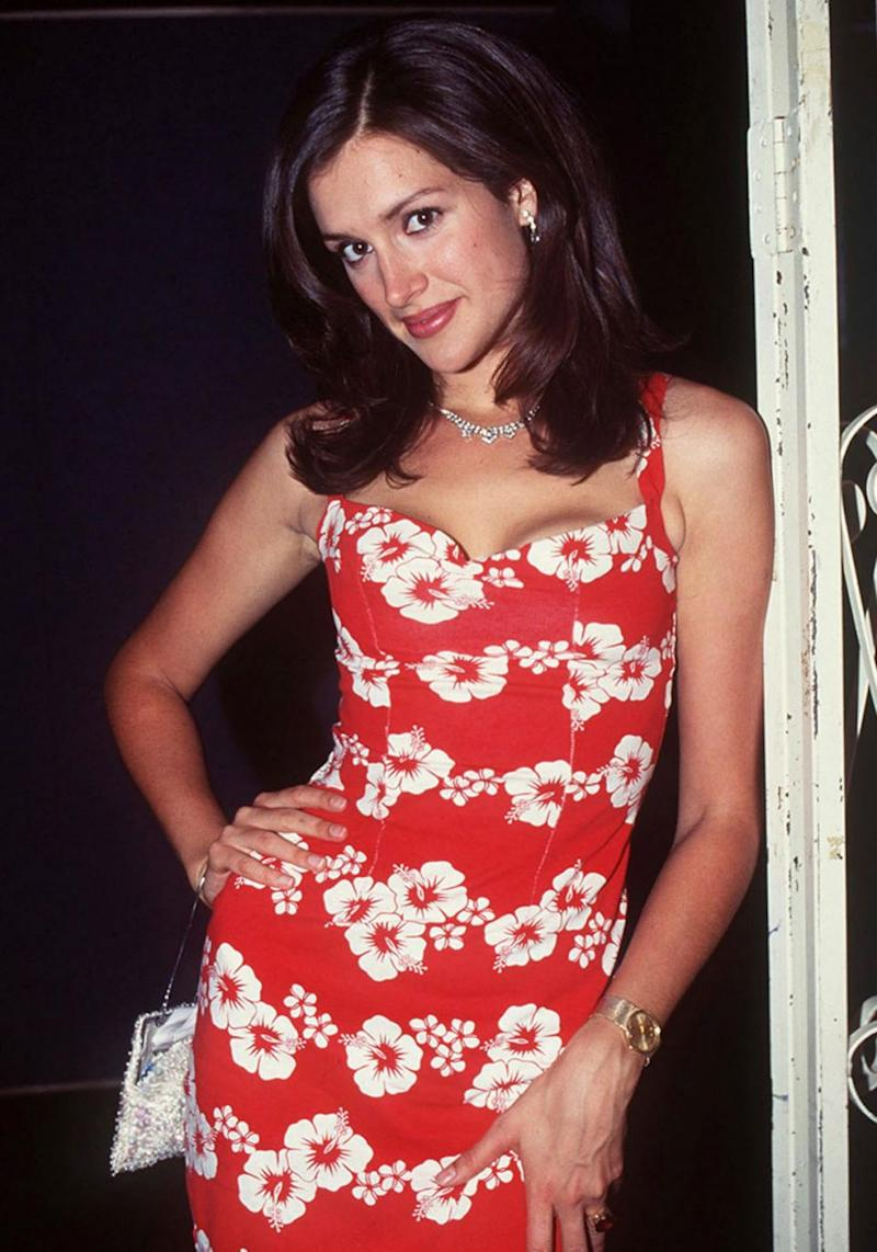 Tziporah - formerly known as Kate Fischer - made a return to the spotlight on I'm A Celeb this year. The former model is pictured here in 1996. Source: Getty