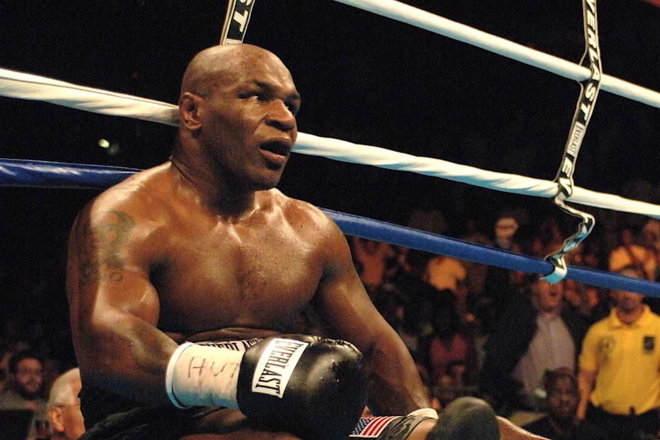<p>Tyson's boxing career ended with a famous defeat to Kevin McBride</p>Getty Images