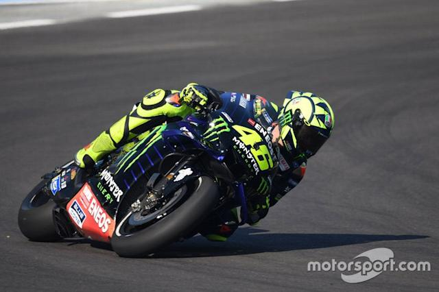 """Valentino Rossi, Yamaha Factory Racing <span class=""""copyright"""">Miquel Liso</span>"""