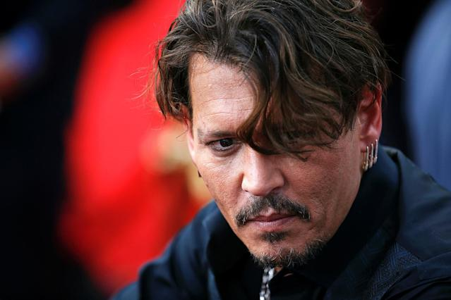 "<p>Actor Johnny Depp arrives on the red carpet for the global premiere of the film ""Pirates of the Caribbean: Dead Men Tell No Tales"", in Shanghai, China May 11, 2017. (Photo: Aly Song/Reuters) </p>"