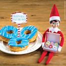 """<p>Tell your kids that your elf brought back some freshly baked doughnuts from the North Pole, straight out of Mrs. Claus' oven! </p><p><em><a href=""""https://elfontheshelf.com/elf-ideas/donut-you-want-one"""" rel=""""nofollow noopener"""" target=""""_blank"""" data-ylk=""""slk:Get the tutorial at Elf on the Shelf »"""" class=""""link rapid-noclick-resp"""">Get the tutorial at Elf on the Shelf »</a></em></p>"""