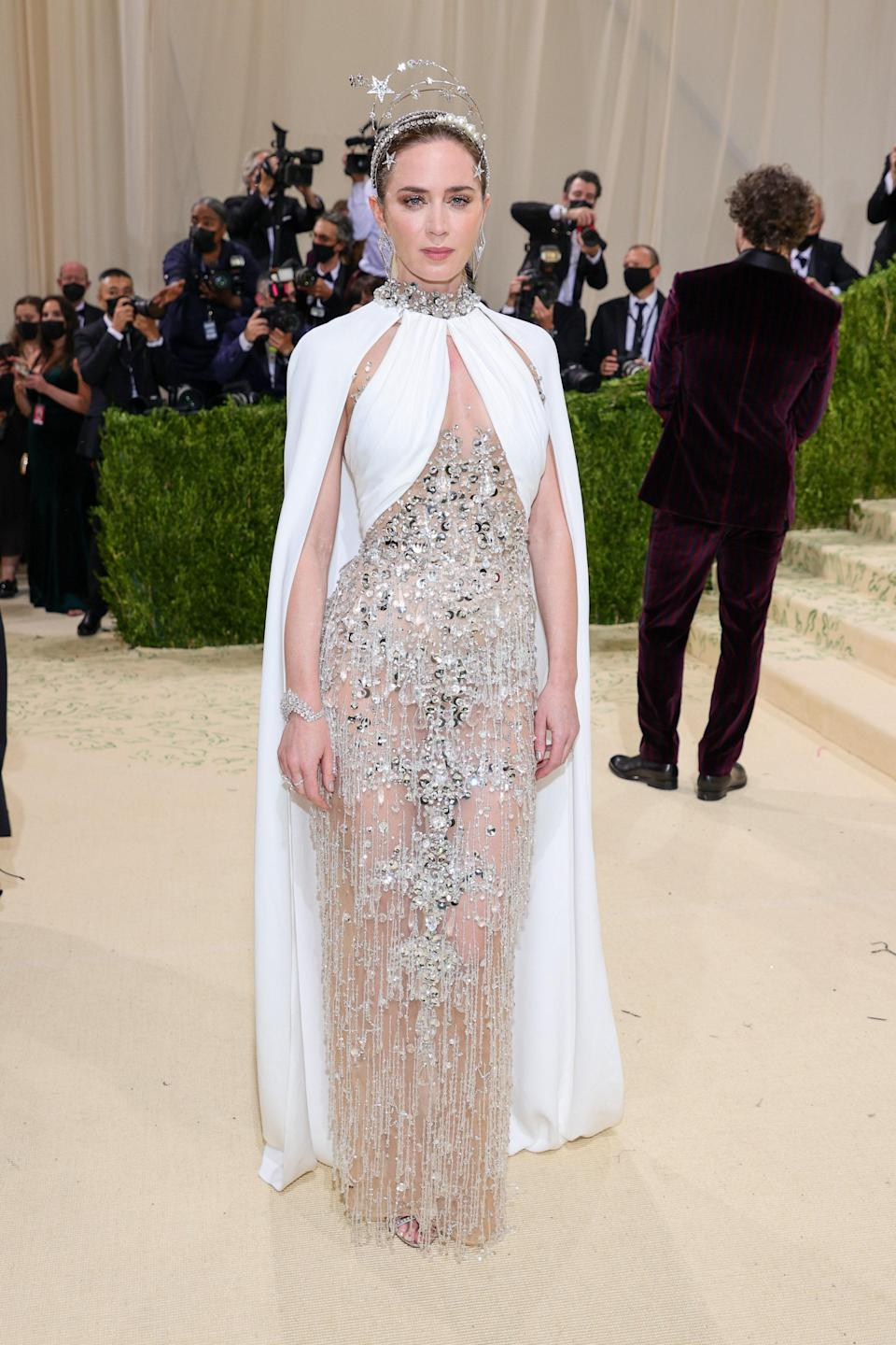 """<h1 class=""""title"""">Emily Blunt, The 2021 Met Gala Celebrating In America: A Lexicon Of Fashion - Arrivals</h1><cite class=""""credit"""">Getty</cite>"""