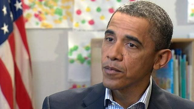 Obama: Occupy Wall Street 'Not That Different' From Tea Party Protests