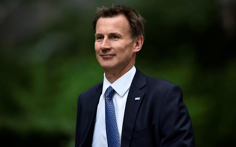 Health secretary Jeremy Hunt, who would oversee any reform to the social care system - REUTERS