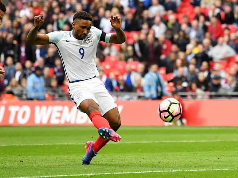 Defoe scored on his return to the international fold (Getty)