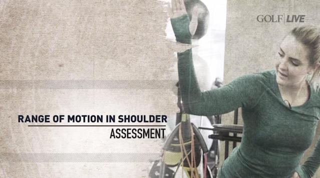 Two fitness assessments to improve your golf swing