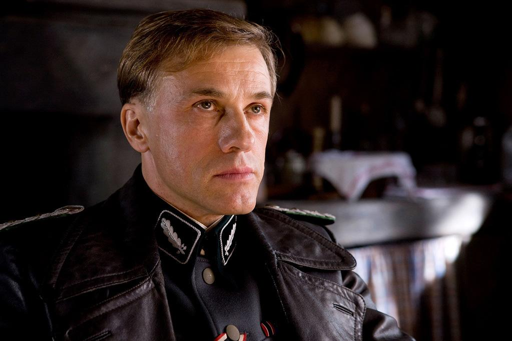 """<a href=""""http://movies.yahoo.com/movie/contributor/1809655132"""">Christoph Waltz</a> in The Weinstein Company's <a href=""""http://movies.yahoo.com/movie/1808404206/info"""">Inglourious Basterds</a> - 2009"""