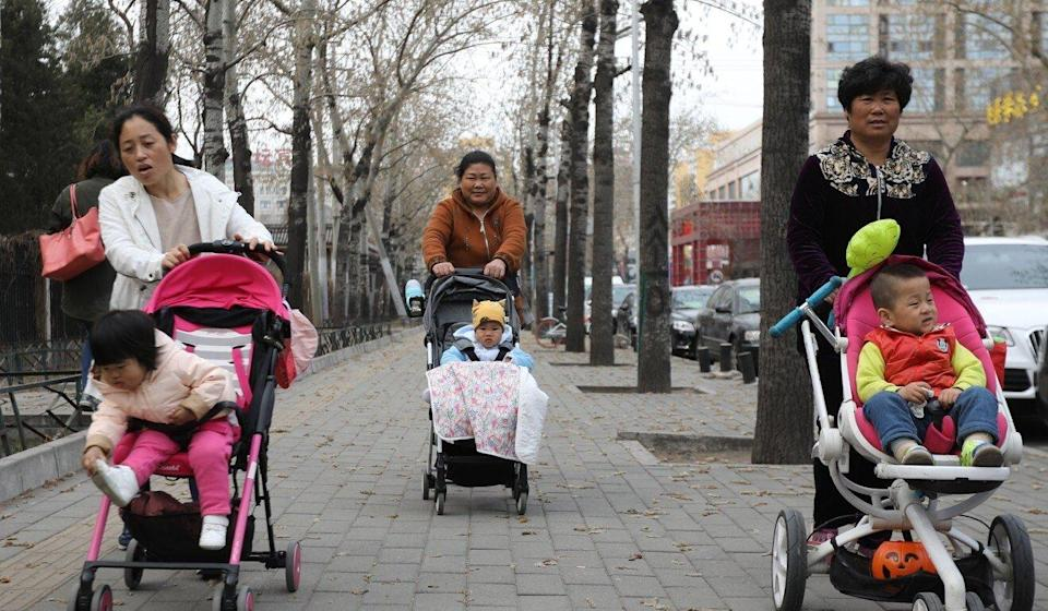 China is facing a demographics crisis as fewer babies are being born every year. Photo: EPA