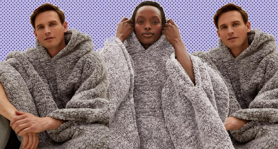 Be extra cosy this autumn. (Marks & Spencer)