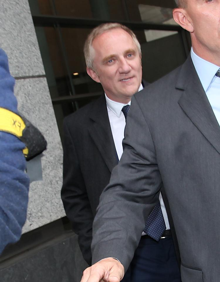 NEW YORK, NY - MAY 07:  Francois-Henri Pinault appears at Manhattan Family Court on May 7, 2012 in New York City.  (Photo by Rob Kim/Getty Images)