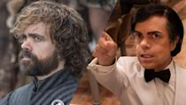 <p>Peter Dinklage was transformed into French actor Hervé Villechaize for HBO's biopic <em>My Dinner with Herve.</em> </p>
