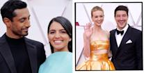 """<p>As much as we're thankful that the <a href=""""https://www.elle.com/uk/life-and-culture/culture/a25990367/oscars-date-nominations-winners-red-carpet/"""" rel=""""nofollow noopener"""" target=""""_blank"""" data-ylk=""""slk:2021 Oscars"""" class=""""link rapid-noclick-resp"""">2021 Oscars </a>features an actual red carpet this unusual 2021 awards season so we can marvel at the dresses, it also means that some celebrities have been able to couple up for the cameras. </p><p>From Carey Mulligan and Marcus Mumford's rare appearance to Riz Ahmed and his wife Fatima Farheen Mirza walking the red carpet together for the first time since they married, here are the cutest couples from the <a href=""""https://www.elle.com/uk/life-and-culture/culture/a25990367/oscars-date-nominations-winners-red-carpet/"""" rel=""""nofollow noopener"""" target=""""_blank"""" data-ylk=""""slk:2021 Oscars."""" class=""""link rapid-noclick-resp"""">2021 Oscars.</a></p>"""