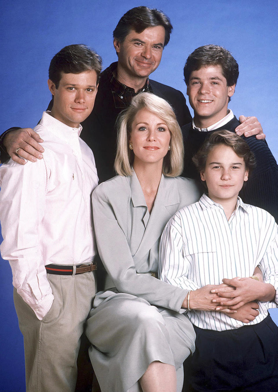 <p><b>Aired:</b> February 11, 1990 on NBC<br><b>Stars:</b> Robert Urich, Joanna Kerns, and Johnny Galecki<br><br><b>Ripped from the headlines about:</b> New Jersey businessman Rob Marshall, who in 1984 hired a contract killer to murder his wife, Maria, so he could be with his mistress and pay off his debts with insurance money. Marshall, originally given the death penalty, then a life sentence, was scheduled for a March 2015 parole hearing, but died in a Jersey prison a month earlier. The movie, an Emmy nominee for Outstanding Miniseries, was based on a book by bestselling true crime author Joe McGinniss. In a happier postscript, Kerns had become close to real-life Rob Marshall son Roby during filming, and set him up with her <i>Growing Pains</i> TV daughter Tracey Gold. Marshall and Gold have been married for more than 20 years and have four sons. <br><br><i>(Credit: Getty Images)</i> </p>