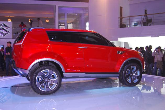 auto expo 2012 maruti unveils suv xa alpha. Black Bedroom Furniture Sets. Home Design Ideas