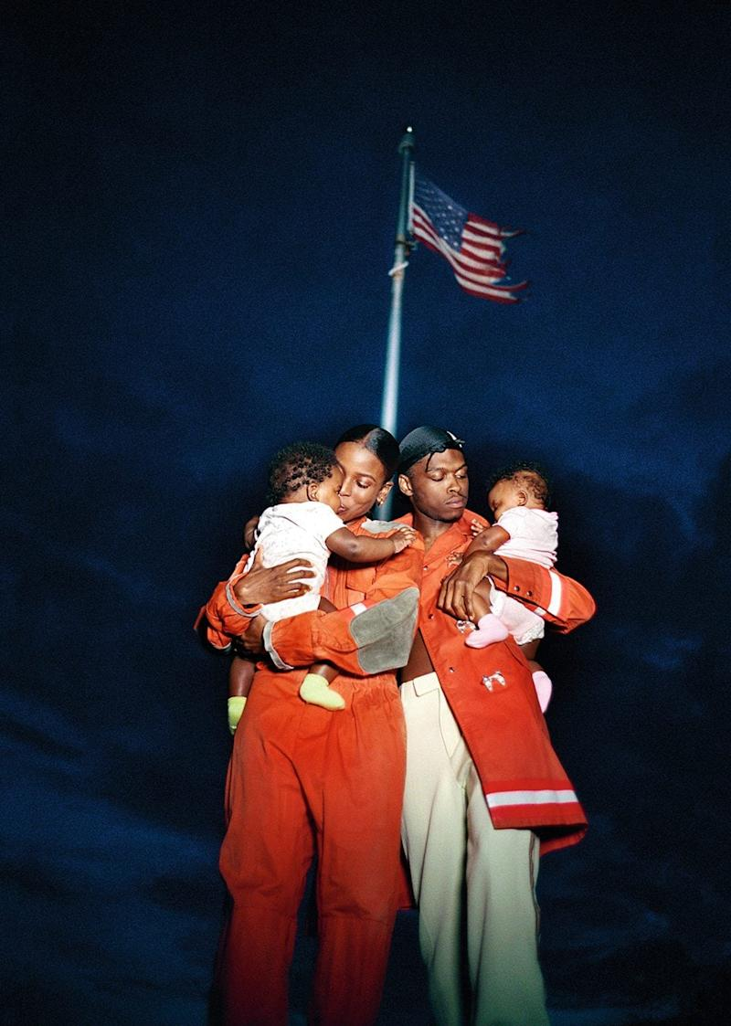 All American Family Portrait, 2018  - Tyler Mitchell