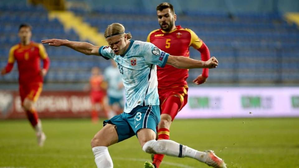 Montenegro v Norway - FIFA World Cup 2022 Qatar Qualifier | Filip Filipovic/Getty Images