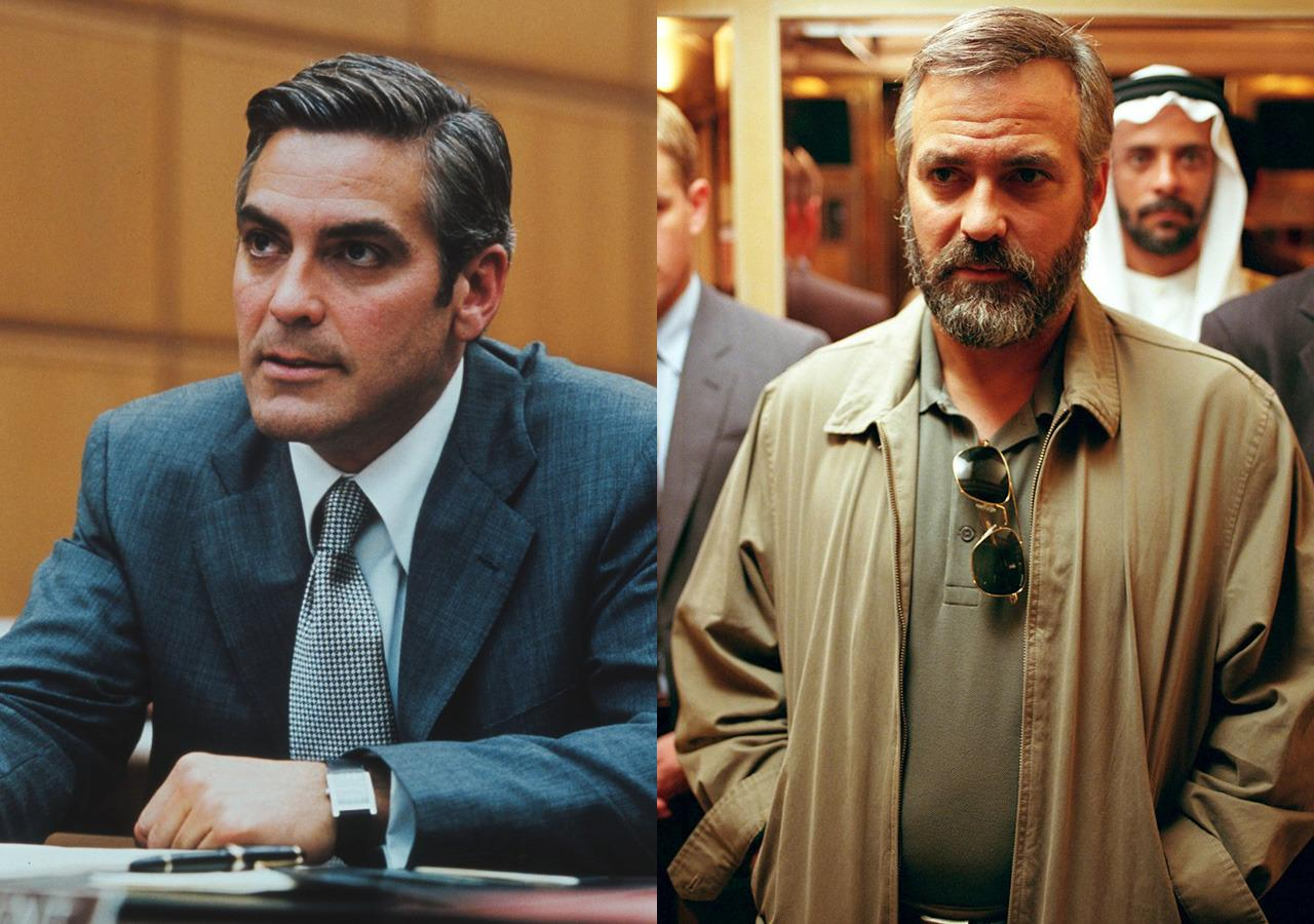 "<p>The Cloonster piled on 30lbs (over 2 stone) in 30 days to play CIA agent Robert Baer by eating mountains of pasta. ""My job was just to eat as fast as I could, as much as I could,"" Clooney told The Tech. ""But mostly you just ate until you wanted to throw up, and made sure you didn't throw up."" He was rewarded with an Oscar for his work.</p>"