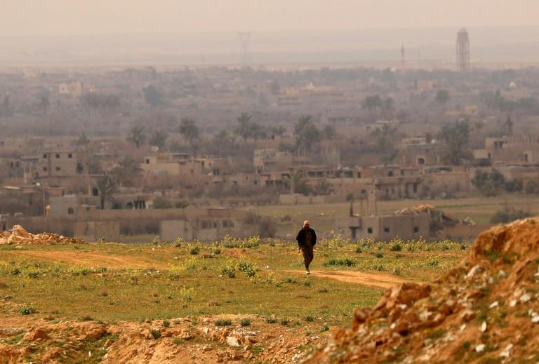 The US-backed Syrian Democratic Forces (SDF) are battling a jihadist counteroffensive as they push to retake the last morsel of territory from the Islamic State group in eastern Syria