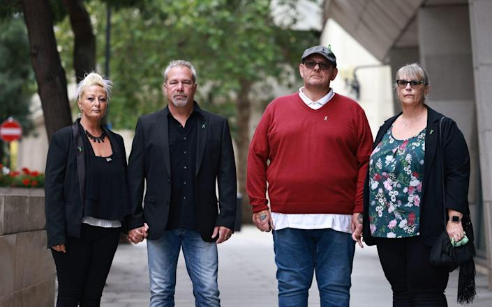 Mr Dunn's family want justice for his death - PA