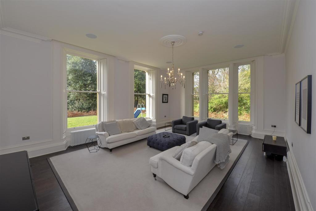 The property is in the North Wing of the grand Whinney House in Gateshead. (Rightmove)